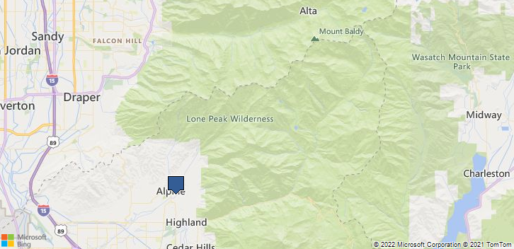 Alpine, UT, 84004 Map