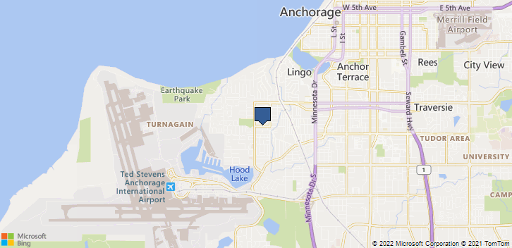 Anchorage, AK, 99517 Map