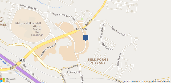 Antioch, TN, 37011 Map