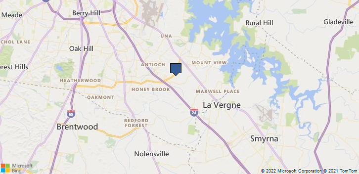 Antioch, TN, 37013 Map