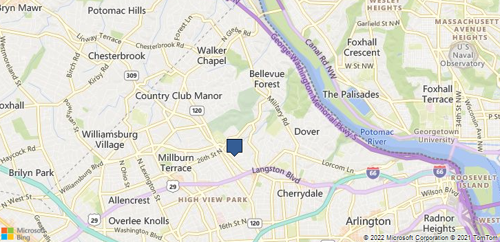 Arlington, VA, 22207 Map