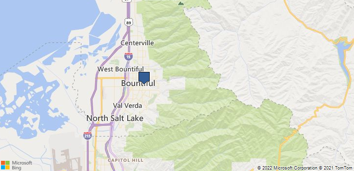 Bountiful, UT, 84010 Map