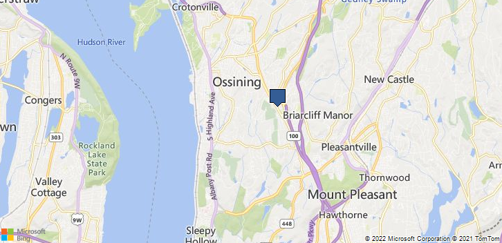 Briarcliff Manor, NY, 10510 Map