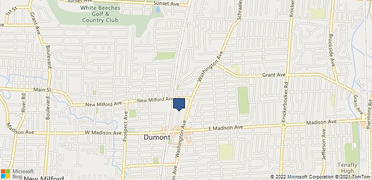 Dumont, NJ, 07628 Map
