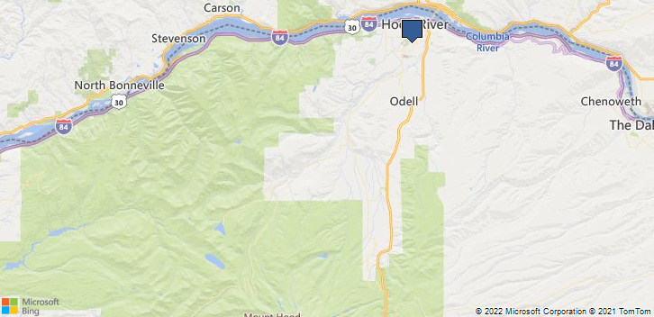 Hood River, OR, 97031 Map