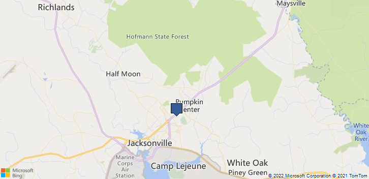Jacksonville, NC, 28546 Map