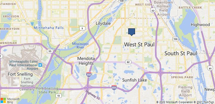 Saint Paul, MN, 55118 Map
