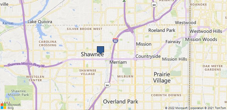 Shawnee, KS, 66203 Map