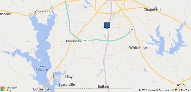 Tyler, TX, 75703 Map