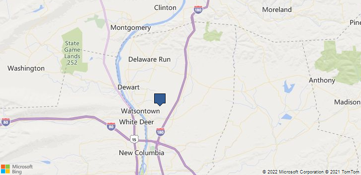 Watsontown, PA, 17777 Map