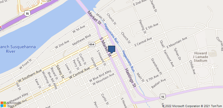 1 E Central Ave South Williamsport, PA, 17702 Map