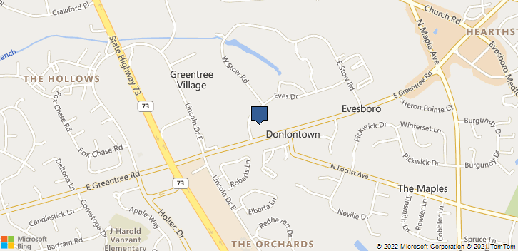 1 Eves Dr Marlton, NJ, 08053 Map