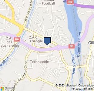 Bing Map of 10 rue de la fraternité, Saint Denis, La Réunion