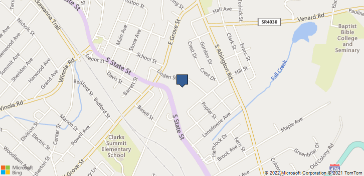 100 Linden Street Clarks Summit, PA, 18411 Map