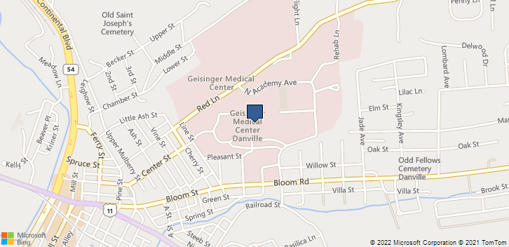 100 N Academy Ave Danville, PA, 17822 Map