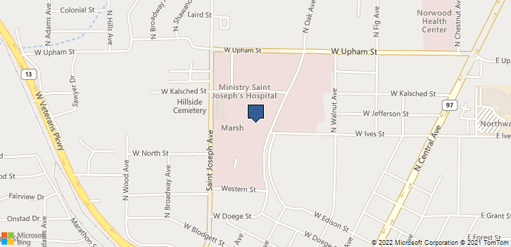 1000 N Oak Ave Marshfield, WI, 54449 Map