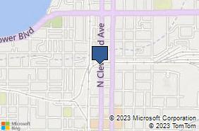 Bing Map of 1001 Cleveland Ave Loveland, CO 80537