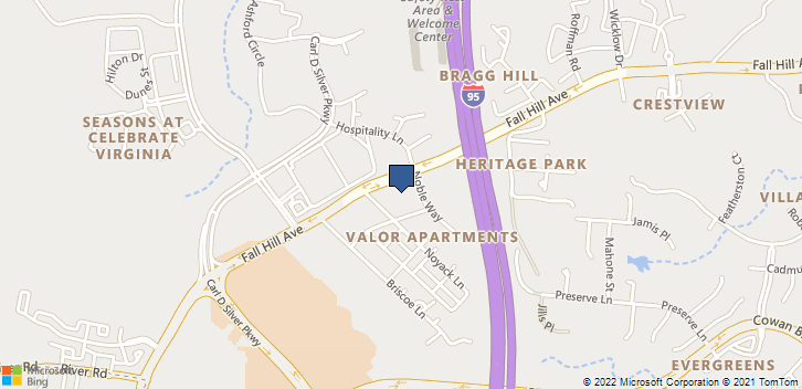 1001 Noble Way Fredericksburg, VA, 22401 Map