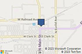 Bing Map of 1009 N Main St Princeton, IL 61356