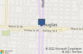 Bing Map of 101 Madison Ave N # 103 Douglas, GA 31533