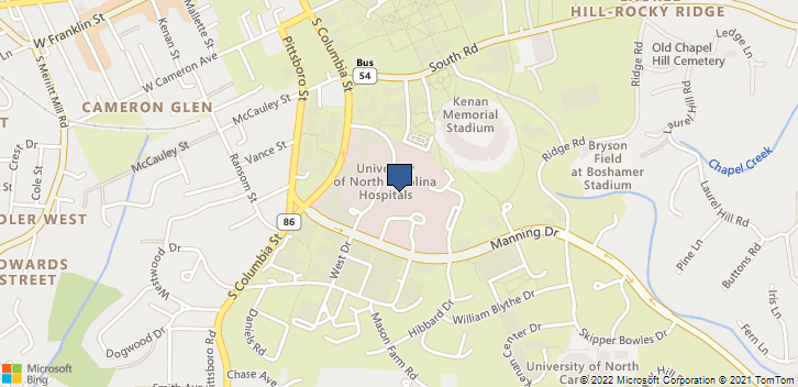 101 Manning Dr Chapel Hill, NC, 27599 Map