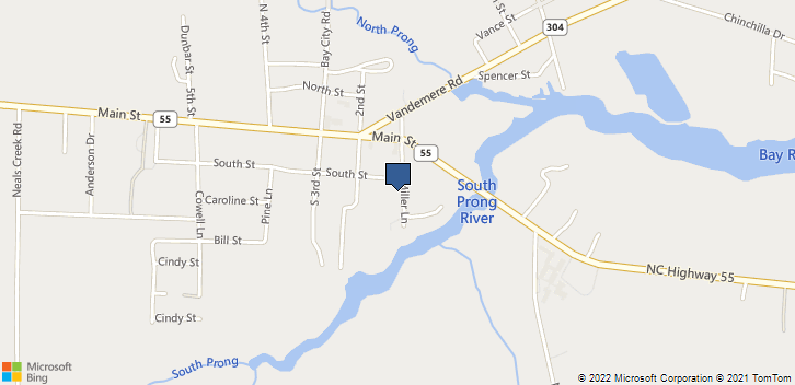 101 South Street Oriental, NC, 28571 Map