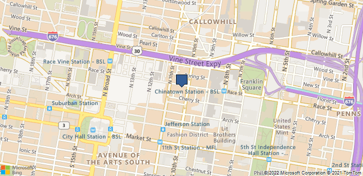 1010 Race St Apt 3j Philadelphia, PA, 19107 Map