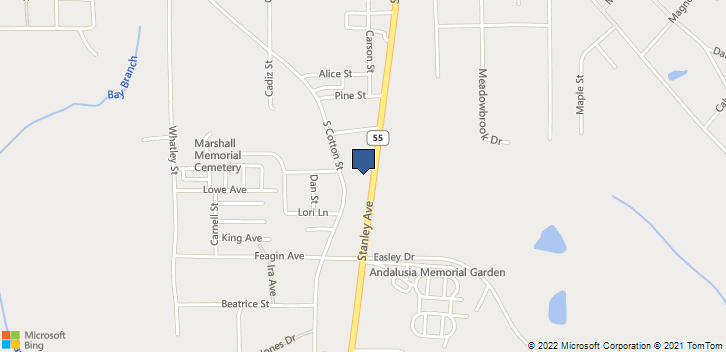1012 Stanley Ave  Andalusia, AL, 36420 Map