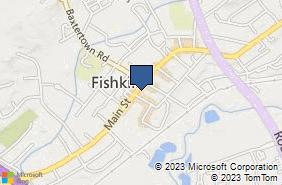 Bing Map of 1012c Main St Fishkill, NY 12524