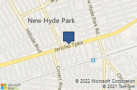 Bing Map of 1015 Jericho Tpke New Hyde Park, NY 11040