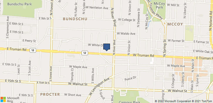 1020 W Truman Rd Independence, MO, 64050 Map