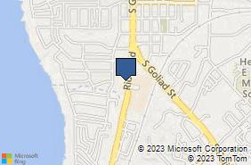 Bing Map of 1022 Ridge Rd Rockwall, TX 75087