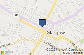 Bing Map of 103 W Public Sq Glasgow, KY 42141