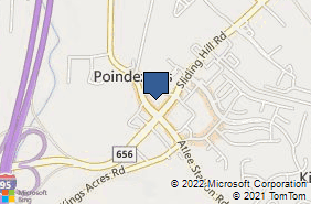 Bing Map of 10366 Leadbetter Rd Ashland, VA 23005