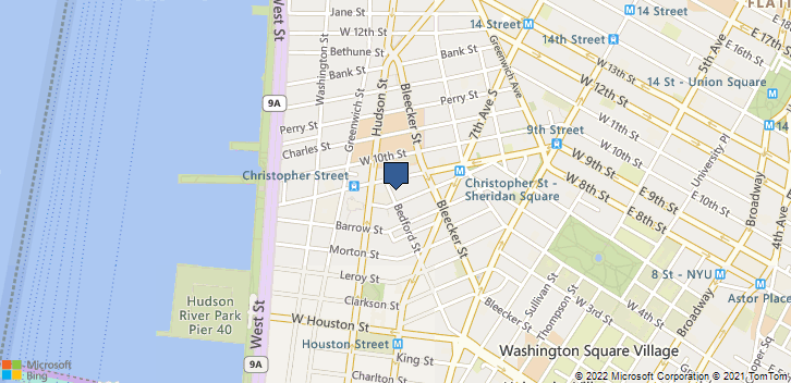 104 Bedford St New York, NY, 10014 Map