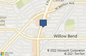 Bing Map of 10519 S Post Oak Rd Ste 103 Houston, TX 77035
