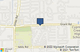 Bing Map of 10603 Grant Rd Ste 108 Houston, TX 77070