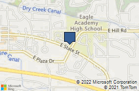 Bing Map of 1065 E Winding Crk Dr Ste 240 Eagle, ID 83616