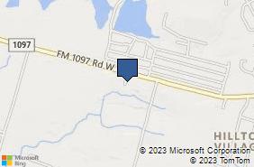 Bing Map of 10655 Fm 1097 Rd W Willis, TX 77318