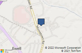 Bing Map of 107 Bulifants Blvd Ste C Williamsburg, VA 23188