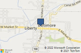 Bing Map of 107 N Main St Ste D Baltimore, OH 43105