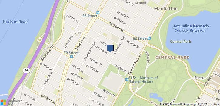 107 W 82nd St New York, NY, 10024 Map