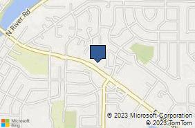 Bing Map of 1072 E Algonquin Rd Algonquin, IL 60102