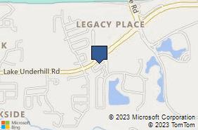 Bing Map of 10801 Dylan Loren Cir Ste B Orlando, FL 32825