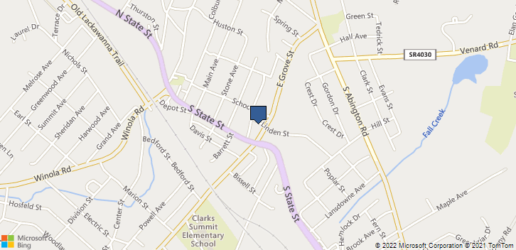 109 East Grove Street, Clarks Summit, PA, 18411 Map