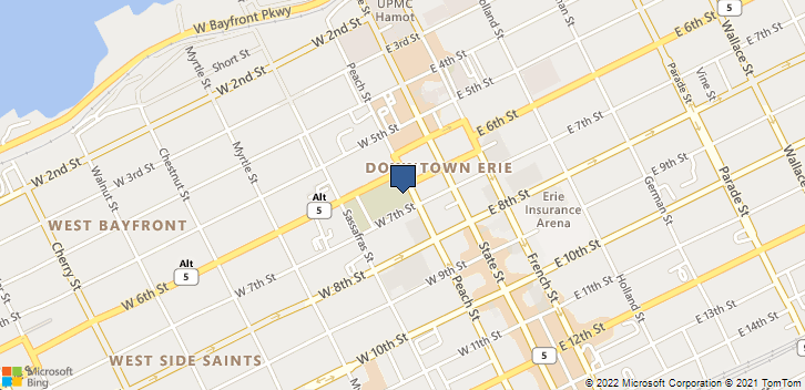 109 University Square Erie, PA, 16541 Map