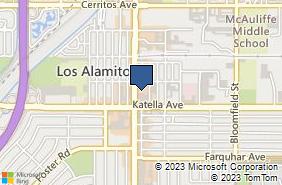 Bing Map of 10900 Los Alamitos Blvd Ste 200 Los Alamitos, CA 90720