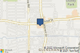 Bing Map of 10925 Beechnut St Ste B205 Houston, TX 77072