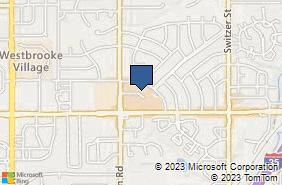 Bing Map of 10930 W 74th Ter Shawnee, KS 66203