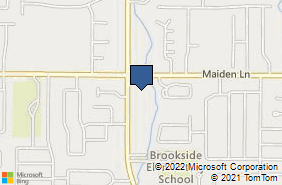 Bing Map of 1100 Long Pond Rd Ste 119 Rochester, NY 14626